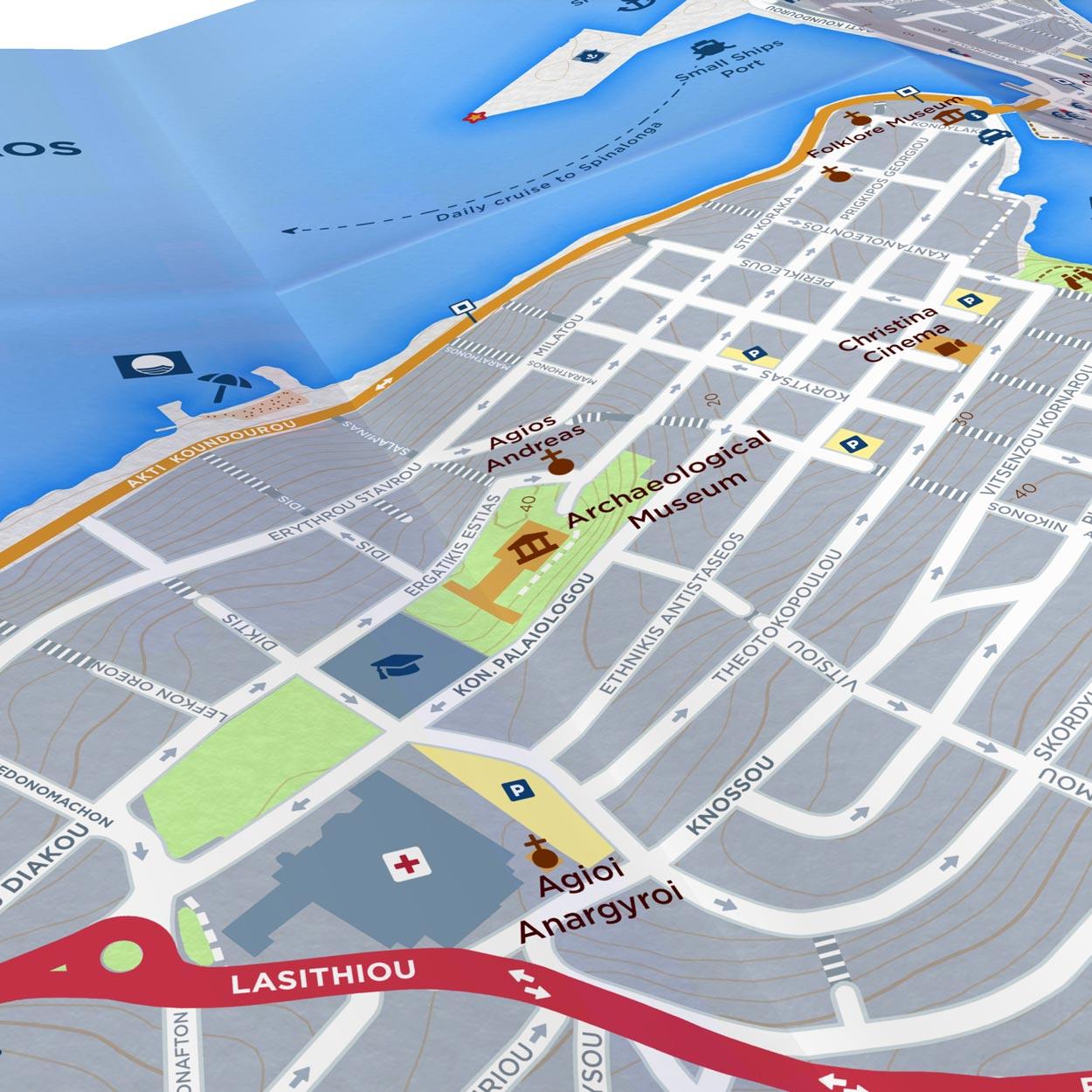 Agios Nikolaos | Paper Map | Side A