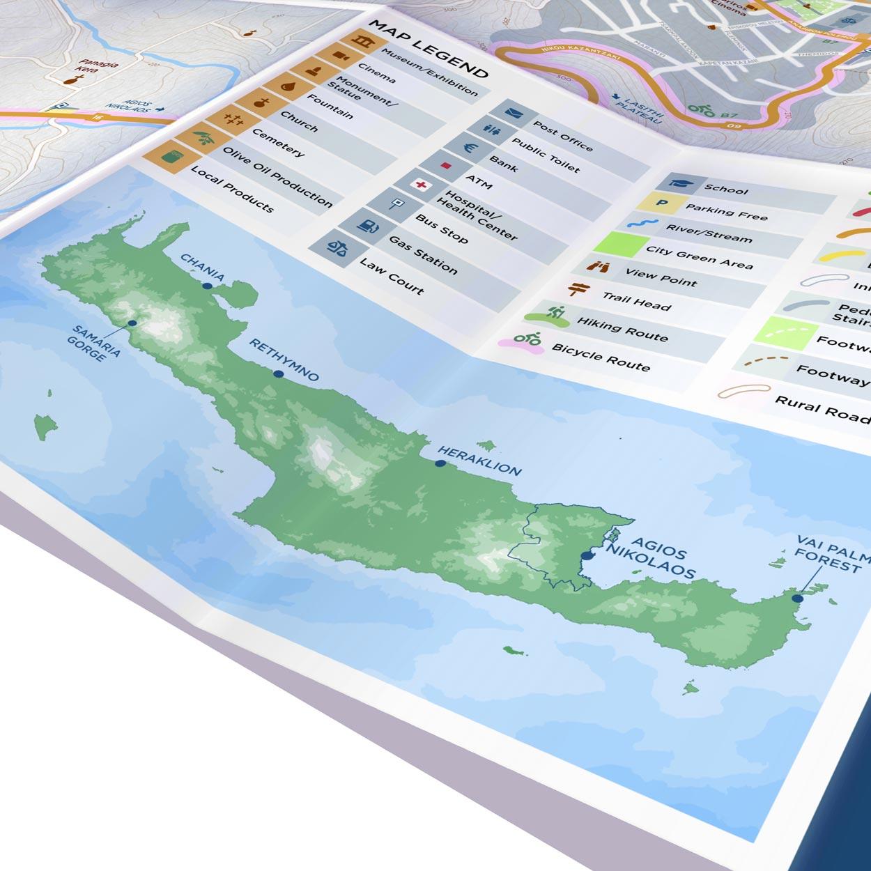 Agios Nikolaos | Paper Map | Side B