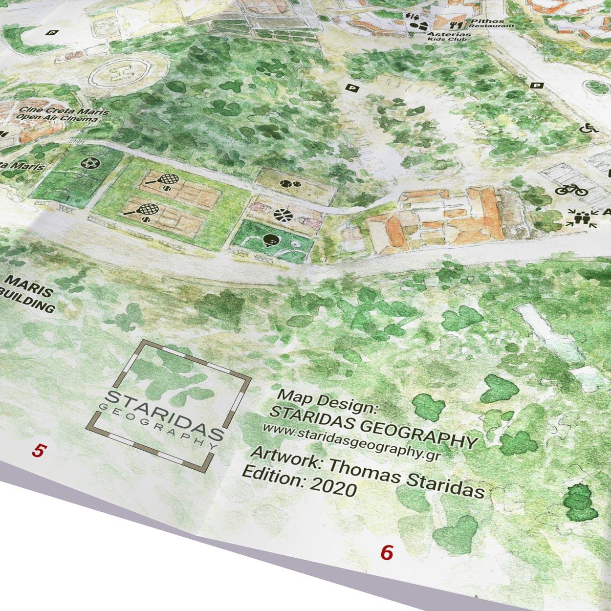 Creta Maris | Paper Map | Side A
