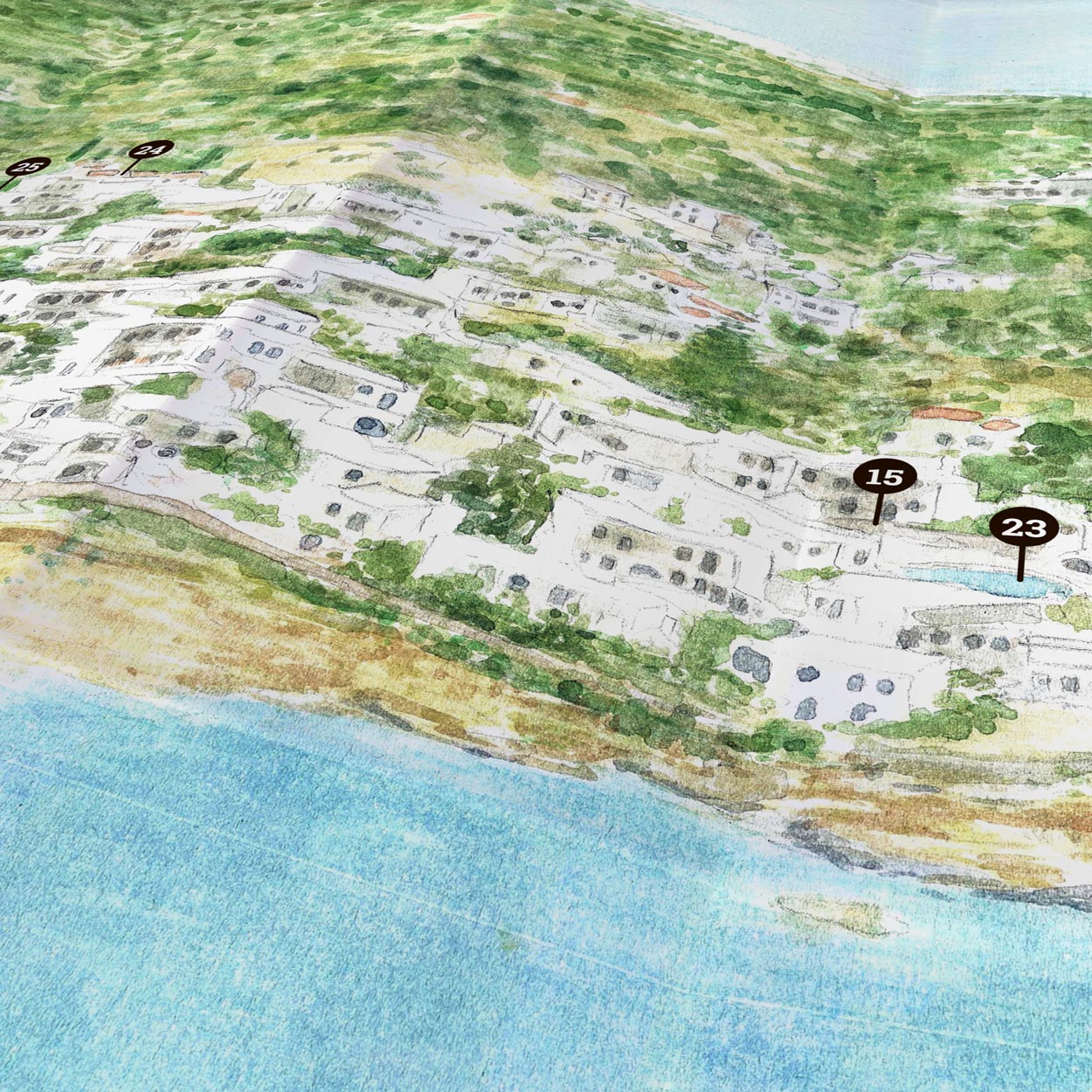 Creta Maris | Paper Map | Side B