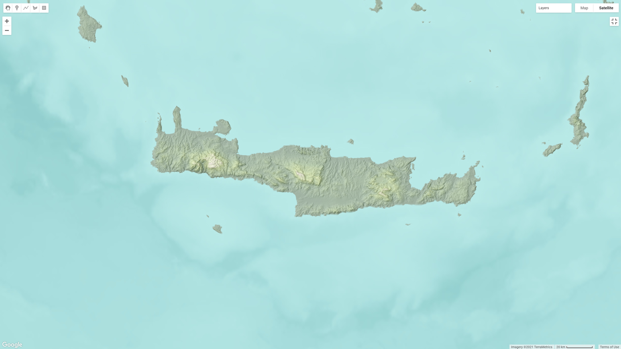 Picture 5: Adding Bathymetry to the Seas and Oceans.