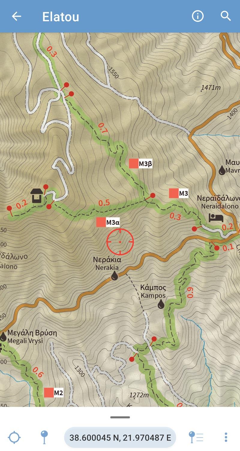 Elatou Trails - Map on the Avenza Maps Store