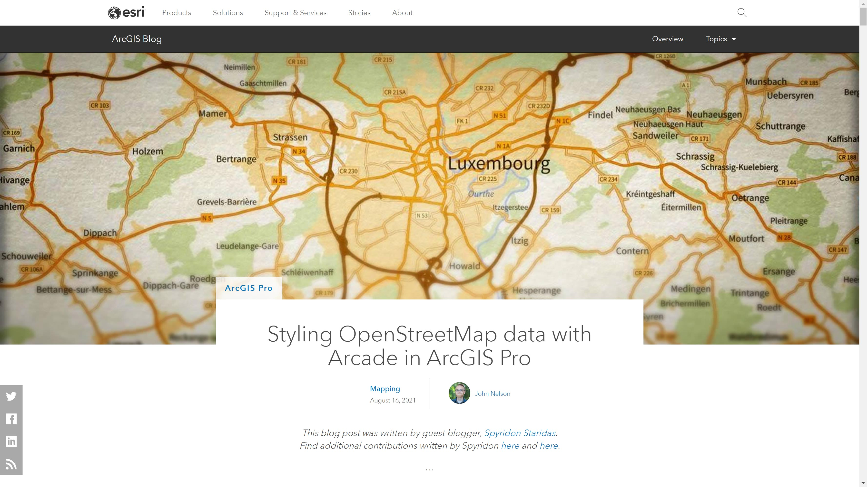 Styling OpenStreetMap data with Arcade in ArcGIS Pro